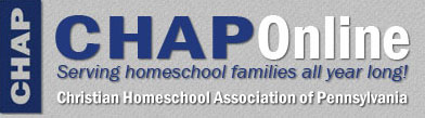 CHAP – Christian Homeschool Association of Pennsylvania