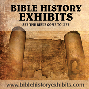 Bible History Exhibits Ad