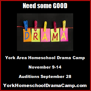 York Area Homeschool Drama Camp